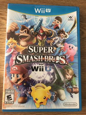 Nintendo Wii U Super Smash Bros for Sale in Manassas Park, VA