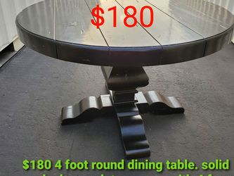 48 Inch Round Solod Wood Handmade Dining Table for Sale in Los Angeles,  CA