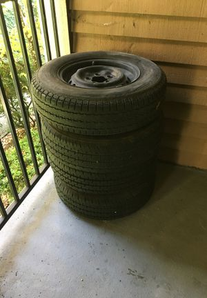 185R14 tires off VW vanagon for Sale in Clackamas, OR