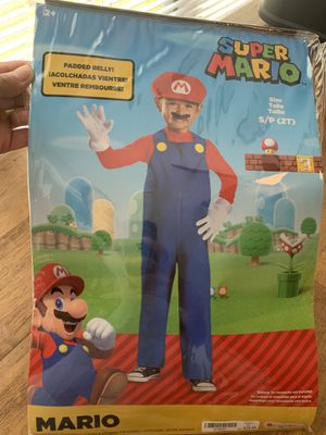 Super Mario costume, size 2T for Sale in Mt. Juliet, TN