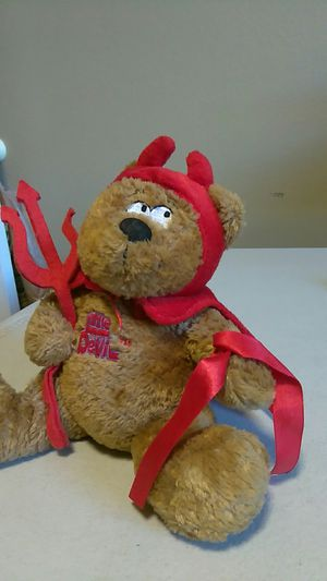 "LITTLE DEVIL TEDDY BEAR 7 1/2"" for Sale in Calexico, CA"