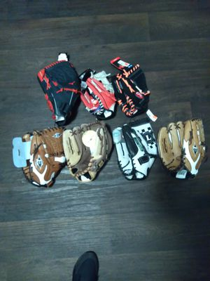 Shoes / cleats/ baseball gloves for Sale in Denver, CO