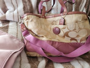 *COACH* SIGNATURE BABY GIRL DIAPER BAG*EXCELLENT CONDITION for Sale in San Diego, CA