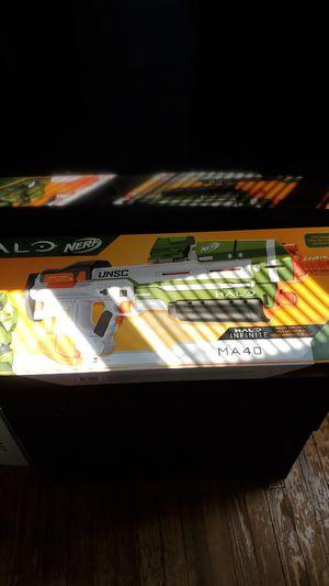 Brand new halo infinite nerf gun ma40 for Sale in Washington, DC