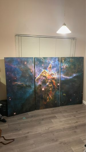 3 piece Canvas for only 150 for Sale in Guadalupe, AZ