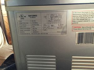 SPTusa countertop ice maker for Sale in Show Low, AZ