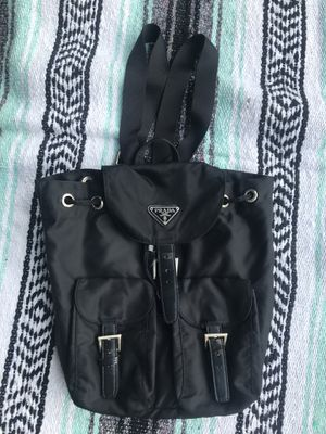 Prada nylon backpack for Sale in Downers Grove, IL