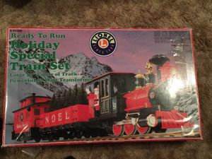 Lionel train holiday special train set for Sale in Manassas, VA
