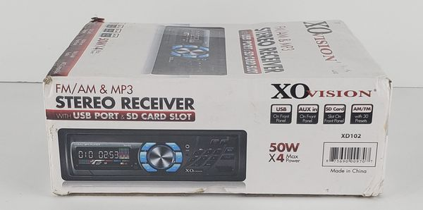 XO vision FM/AM stereo receiver