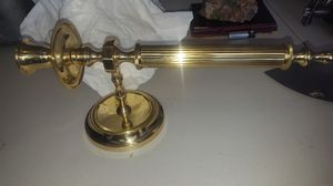 Polish brass candle holder for Sale in Bakersfield, CA