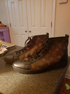 LOUIS VUITTON SHOES s 11 mens no box, brand new never worn for Sale in Bahama, NC