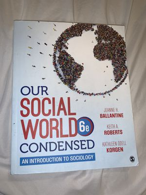 Our social works condensed text book for Sale in Kennewick, WA