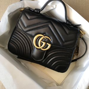 Authentic Gucci Mormont Black Leather Mini Bag for Sale in Los Angeles, CA