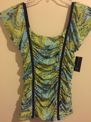 NEW INC Multi Color Blouse-Size M for Sale in Fort Lauderdale, FL
