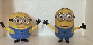 Despicable me talking action figure Dave and jerry. Illumination brand. Deluxe model. for Sale in Santa Fe Springs, CA