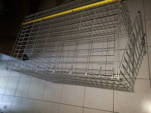 Metal, collapsible dog crate. for Sale in Houston, TX