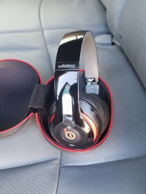 Wireless headphones beats by dre for Sale in Phillips Ranch, CA