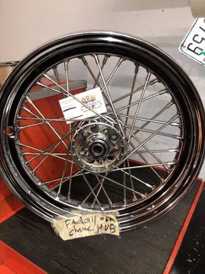 "Original Harley-Davidson star hub new SS spokes new 16"" rim Panhead Shovelhead knucklehead for Sale in Alexandria, VA"