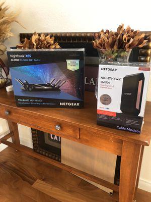 Nighthawk x6s and CM1100 for Sale in Santa Barbara, CA