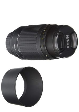 Nikon 70-300 mm f/4-5.6G Zoom Lens with Auto Focus for Nikon DSLR Cameras for Sale in Irvine, CA