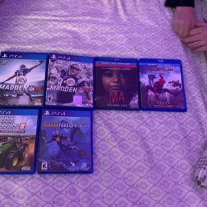 Movies And PS4 Games for Sale in Farmington, CT