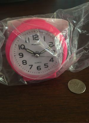 Pink Travel Alarm Clock for Sale in Oro Valley, AZ