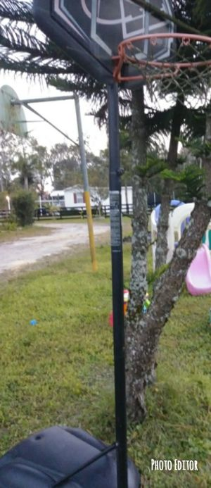 Basketball hoop. for Sale in Land O Lakes, FL