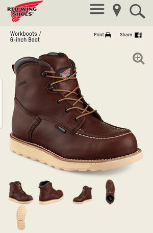 Red Wing Work Boots for Sale in Elizabeth, NJ