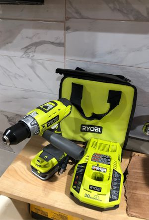 Ryobi hammer drill with handle battery charger and a case for Sale in Dearborn, MI