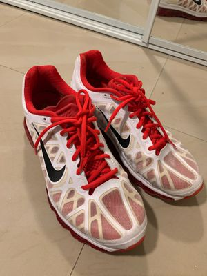 Men's red and white Nike air max size 11 for Sale in Kissimmee, FL