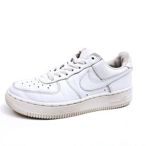 Nike Air Force 1 Low, Youth Size 4 5, Womens Size 6, Leather, White, $30! for Sale in Seattle, WA