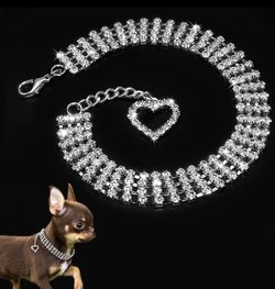 Dog Necklace collar with heart medium for Dogs for Sale in Dunnellon,  FL