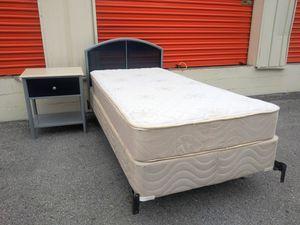 Used twin sz mattress set for Sale in Nashville, TN