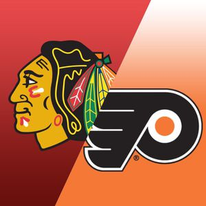 Chicago Blackhawks vs. Philadelphia Flyers 10/24 @ 7:30 pm Section 124, Row 2 off glass, Seats 1 & 2 for Sale in Orland Park, IL