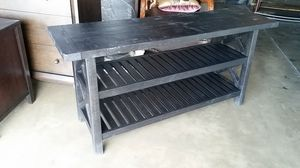Rustic Black Console Table....NEW for Sale in Denver, CO