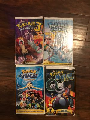 Pokémon movies all for sale!!! Make a offer for Sale in Kingsburg, CA