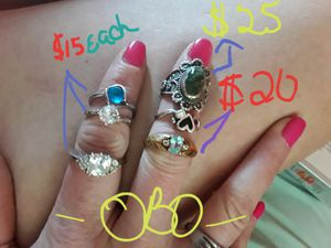 Assorted rings for Sale in Amarillo, TX