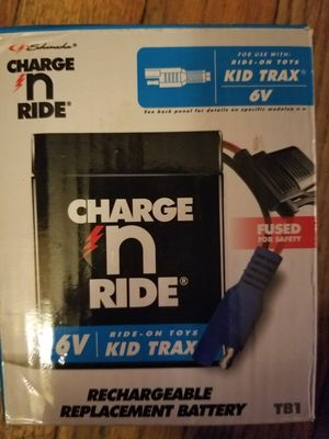 6V Kid Trax Ride On Battery for Sale in Parkersburg, WV