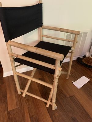 2 director chairs for Sale in Gaithersburg, MD