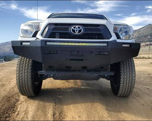 TOYOTA TACOMA WINCH-READY STEEL PLATE BUMPERS (FULL DETAILS LISTED IN PHOTOS-PLEASE READ) for Sale in Yucaipa, CA