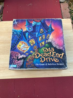 """Parker Brothers """"1313 Dead End Drive"""" RARE board game for Sale in Los Angeles, CA"""