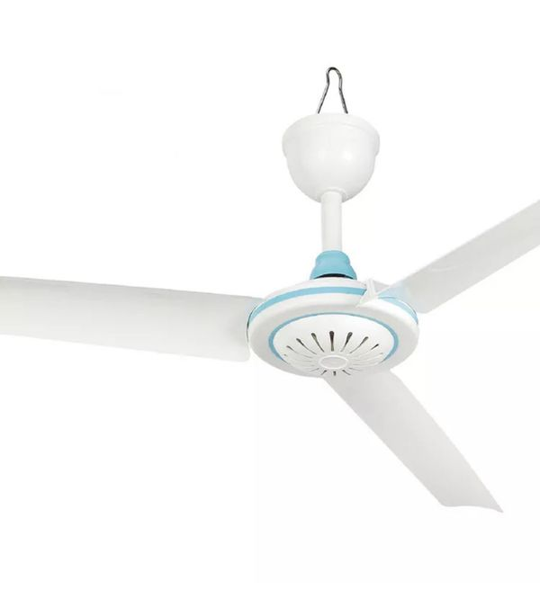 Portable DC 12V Low-voltage Ceiling Hanging Fan Household Camping Electrical Fan (New)