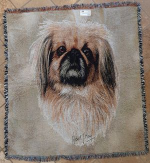 Pekinese Tapestry Throw Lap Square for Sale in Norco, CA