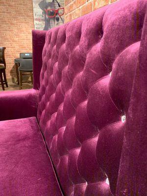 ☑ Special for Black Friday ‼ SPECIAL] Odina Velvet Purple High Back Loveseat 20 for Sale in Jessup, MD