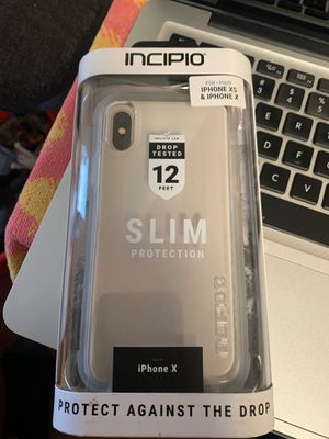 INCIPIO iPhone X/XS Sports series case for Sale in National City, CA