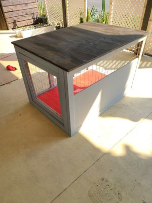 Wooden dog crate for Sale in Corona, CA