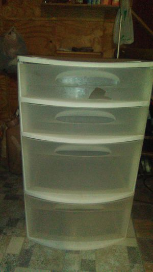 Plastic organizer for Sale in Maud, TX
