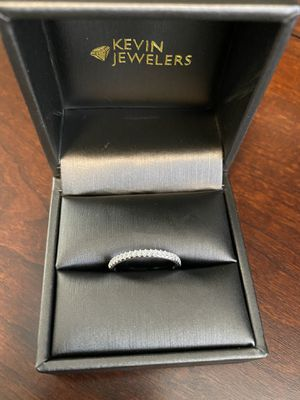 Wedding band- Diamond ring 1/4 CTTW Size 7 for Sale in Chino, CA
