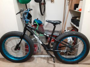 Framed fat tire bike 26 in for Sale in Brentwood, CA