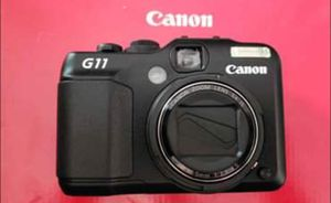 Canon powershot g11 digital camera with conversion lens for Sale in Suwanee, GA